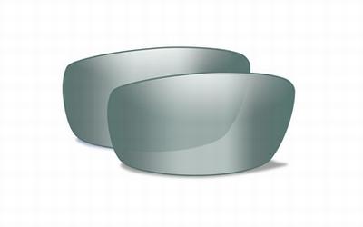 WileyX extra lenzen NASH pol. green platinum flash