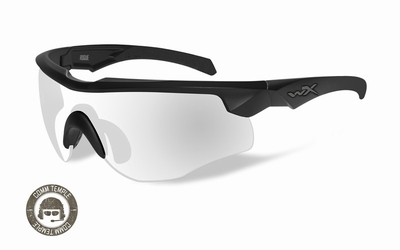 Wileyx zonnebril - ROGUE COMM clear lenses/ mat black frame