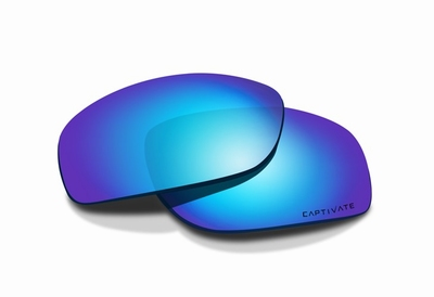 WileyX BOSS Captivate pol. smoke grey blue mirror glazen