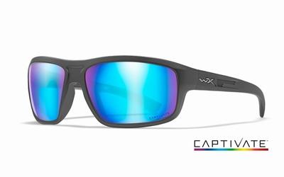 WileyX zonnebril - CONTEND Captivate pol. blue / graphite