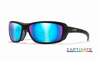 WileyX zonnebril - WAVE, Captivate pol. grey / mat zwrt frm