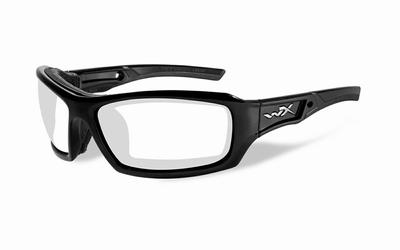 WileyX ECHO glanzend zwart frame