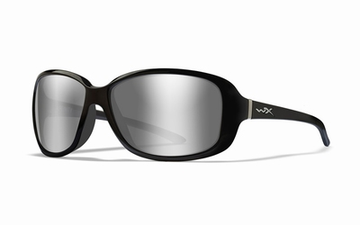WileyX zonnebril - AFFINITY, grey silver / gloss blk frm.