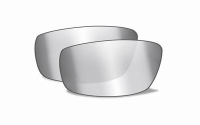 WileyX AFFINITY smoke grey silver flash glazen