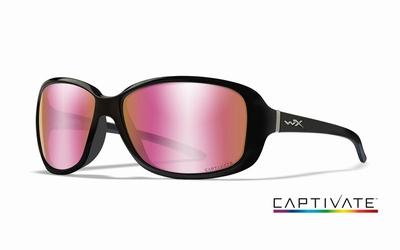 WileyX zonnebril - AFFINITY, Captivate rose / gl. zw. frame