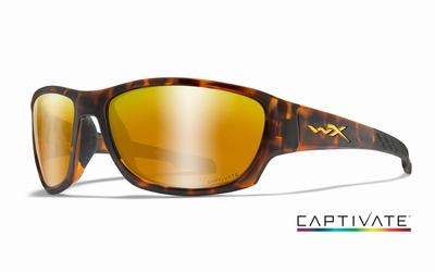 WileyX zonnebril - CLIMB Captivate pol. bronze / tortoise fr