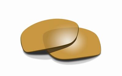 WileyX TIDE polarised amber met gold mirror glazen