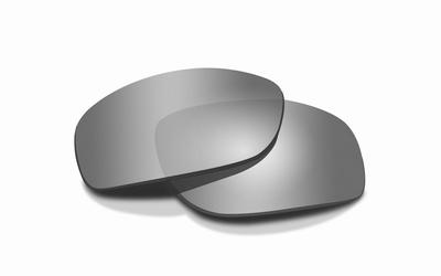 WileyX AIRRAGE pol. smoke grey / silver flash glazen