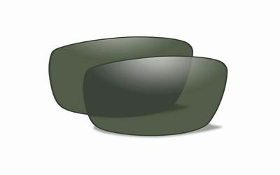 Polarized Smoke Green glazen voor de P-17 - LAATSTE