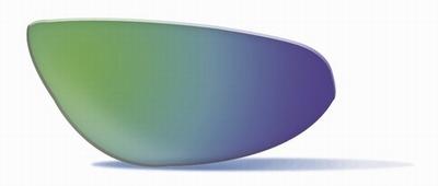 Polarized Emerald Mirror glazen voor de JAKE