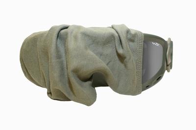 Large Green Goggle Sleeve voor de SPEAR