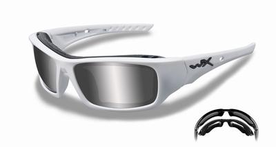 WileyX zonnebril - ARROW wit, gepolariseerd - LAATSTE