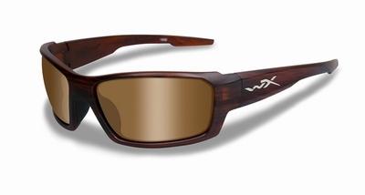 WileyX zonnebril - REBEL, pol. bruine lenzen / mat bruin frm