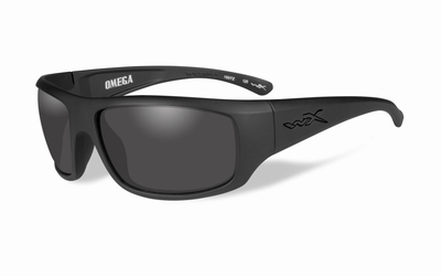 WileyX zonnebril - OMEGA, smoke grey / mat zwart frame