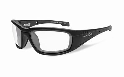 WileyX zonnebril - BOSS, clear / mat zwart