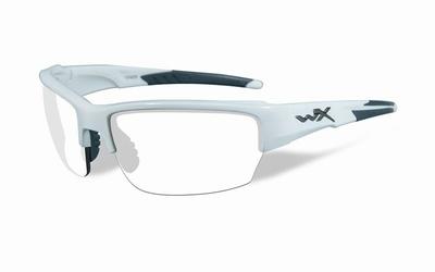 WileyX zonnebril - SAINT, clear glazen / wit frame