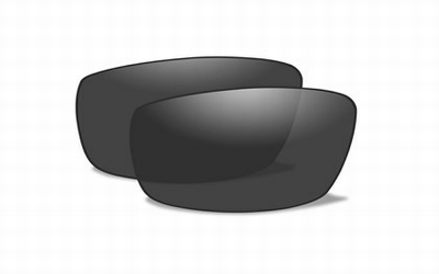 Polarized Smoke Grey glazen voor de CENSOR