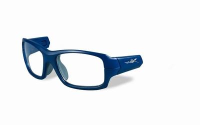 Wiley X los frame voor de FIERCE, mat indigo blauw/grijs