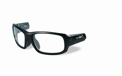 Wiley X los frame voor de GAMER, mat zwart/donker zilver