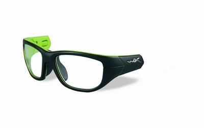 Wiley X los frame voor de VICTORY, mat zwart/lime groen