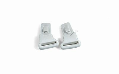 Wiley X losse clips voor de VICTORY, aluminium pearl