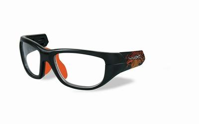 Wiley X los frame voor de VICTORY, mat zwart/sonic oranje