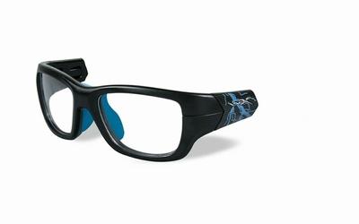 Wiley X los frame voor de FLASH, mat zwart/electric blauw
