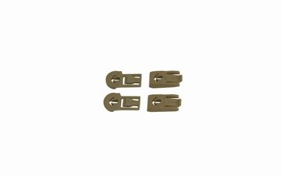 WileyX ARC Rail Attachment (RAS) Clips en BAR set - TAN