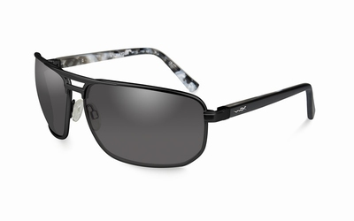 WileyX zonnebril - HAYDEN, smoke grey / mat black