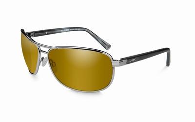 WileyX zonnebril - KLEIN, gepolariseerd gold /gunmetal