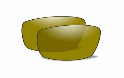 Geel gepolariseerde glazen voor de GRAVITY