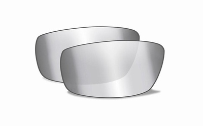 Smoke Grey Silver Flash glazen voor de KOBE