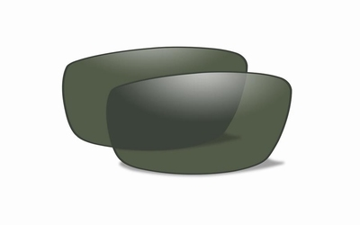Polarized Green glazen voor de HAYDEN