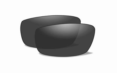 WileyX zonnebril glazen voor de FIERCE, smoke grijs