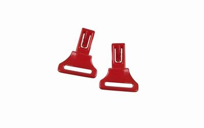 Wiley X losse clips voor de CRUSH, rood