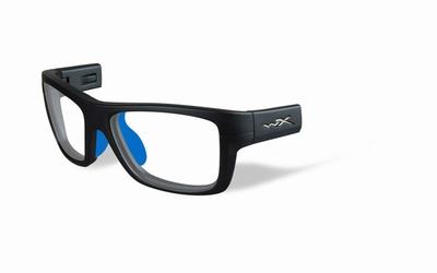 Wiley X los frame voor de CRUSH, mat grijs/blauw