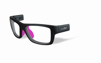 Wiley X los frame voor de CRUSH, mat grijs/donker roze