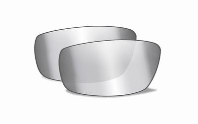 Grey silver flash glazen voor de VALLUS