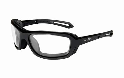 WileyX WAVE frame glanzend zwart