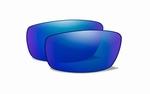 WileyX TIDE polarised green met blue mirror glazen