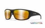 WileyX zonnebril - OMEGA, Captivate pol. bronze / mat zw fr.