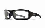 WileyX zonnebril - ECHO, clear glazen / glanzend zwart frame