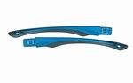Wiley X losse set GAMER brillenpootjes, glanzend zwart/blauw