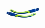 Wiley X losse set FLASH brillenpootjes, royal blauw/lime