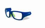 Wiley X los frame voor de FLASH, blauw/ lime groen