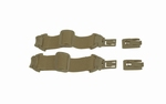 WileyX NERVE (goggle)  ARC Rail Attachment System - TAN