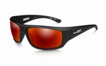 WileyX zonnebril - OMEGA, polarised smoke grey / mat black