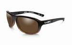 WileyX zonnebril - ACE, gepolariseerd bronze / gloss tortois