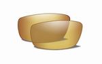 Polarized Amber Gold Mirror glazen voor de KOBE