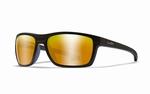 WileyX zonnebril - KINGPIN, pol. amber gold mir. / mat black